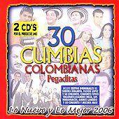 30 Cumbias Colombianas Pegaditas Lo Nuevo y Lo Mejor CD, Aug 2006, 2