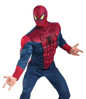 Adult Spider Man Movie Muscle Suit Halloween Costume