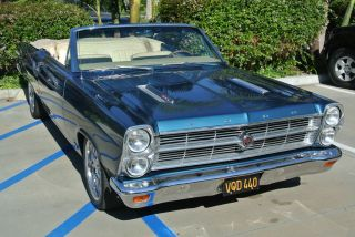 Ford  Fairlane GTA 390 motor 1966 Ford Fairlane GTA Convertible 500