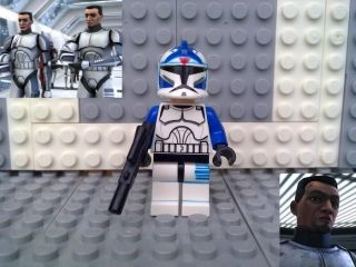 Lego Star Wars Clone Trooper Fives Custom