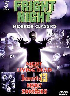 Fright Night Horror Classics 3 Pack DVD, 1998, 3 Disc Set