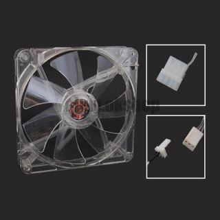 140mm 12v pc computer case arctic cold 3pin 4pin fan