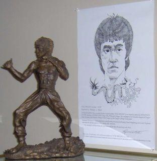 Bruce Lee The Little Dragon Figure