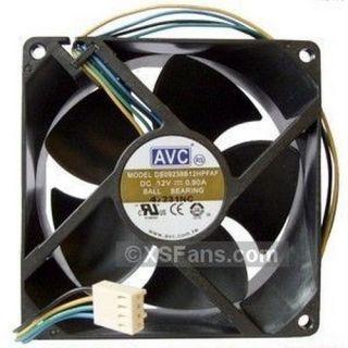 AVC 92mm x 38mm 4 Pin PWM 2BB Extra High Speed Fan New