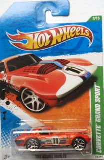 2011 Hot Wheels Treasure Hunts Corvette Grand Sport 9 15