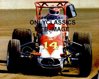 Foyt Famous Sprint Car 14 Auto Racing Poster Indy