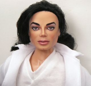 in achieving this one of a kind, collectible Michael Jackson doll