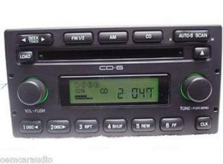 F250 F350 Escape 6 CD Changer Radio F150 E150 E250 E350 E Van