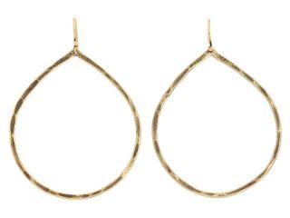 Lucky Brand Jane B Hammered Teardrop Earrings $25.00