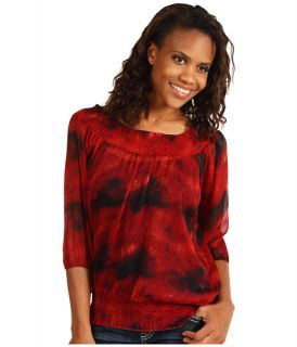Rock and Roll Cowgirl 3/4 Sleeve Woven Peasant Top $35.99 $39.00 SALE