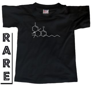 Cannabis Molecule Drug THC Marijuana Sativa T Shirt