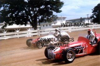 1968 Indiana A J Foyt Gary Bettenhausen Huge Photo Indy