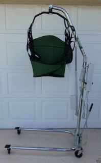 HOYER POWER PATIENT LIFT 400 CAPACITY MODEL P C HLA 2 WITH SLING