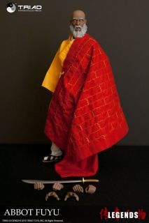 Triad 1 6 Scale Abbot Fuyu Shaolin Monk Martial Arts Action Figure