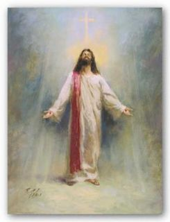 Jesus Christ Print Eternal Life Richard Judson Zolan