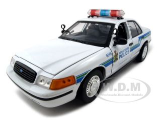 of Ford Crown Victoria Abbotsford Police Car die cast car by Motormax