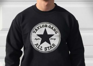 Taylor Gang All Stars Crew Neck Sweater Sizes M 2X Wiz Khalifa Juicy J