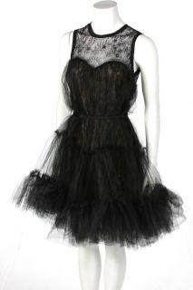 New ABS by Allen Schwartz Womens Strapless Party Dress in Black US 4