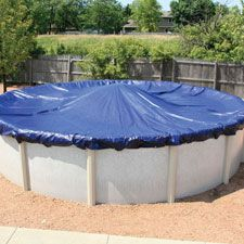 24 Round 8 yr Solid Winter AG Swimming Pool Cover