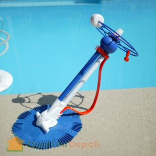 Inground Above Ground Swimming Pool Cleaner Vacuum 30ft 30 Hose