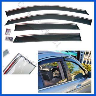 08 09 10 11 Honda Accord Sedan 4 Door OE Style Window Visor Deflectors