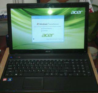 ACER AS5253 BZ493 AMD Dual Core E 350 1 60GHz 4GB DDR3 500GB HDD DVDRW
