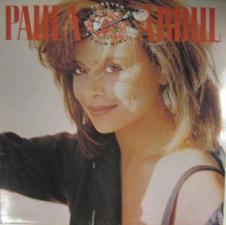 Paula Abdul Vinyl LP Your Girl SRNLP19 Siren Excellent