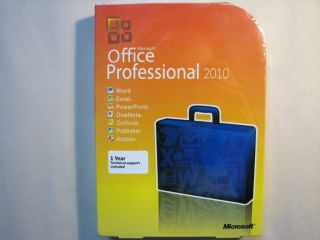 OFFICE PROFESSIONAL 2010 NEW FULL VERSION WORD EXCEL ACCESS POWERPOINT