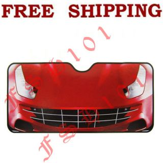 Car Front Window Car Truck SUV Folding Sun Shade Standard Size
