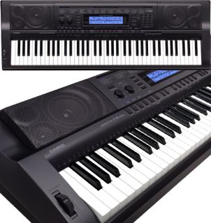 Casio Electronic Keyboard Workstation WK 500 WK500