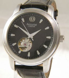 Accurist GMT303 Royal Observatory Greenwich Automatic Gents Watch M24
