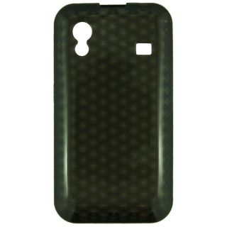 For Samsung Galaxy Ace S5830 flexible Black Gel cell phone cover case