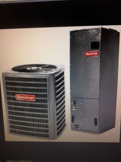 AC 14 SEER combined 60000btu air conditioner var speed air handler