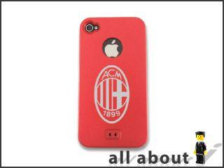 AC Milan Football Team Logo for I Phone 4 4S Metal Alumor Case Cover
