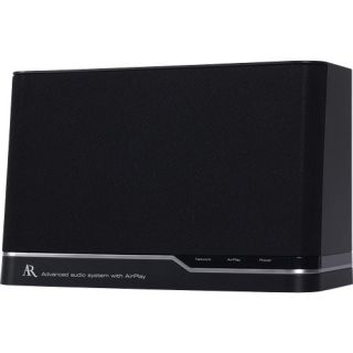 acoustic research arap50 airplay speaker system provides wireless