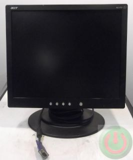 Acer Flat Screen 17 LCD Monitor Model AL1715 EBM