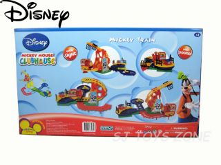 Disney Mickey Mouse Club House Train Set with Track/Rail, Choo Sound