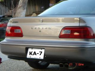Acura Legend Tail Light Redout Covers 91 92 93 94 95