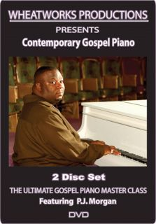 Ultimate Gospel Piano Master Class Contemporary DVD