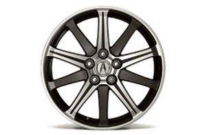 Acura TL 2012 19 10 Spoke Diamond Cut Alloy Wheels Genuine