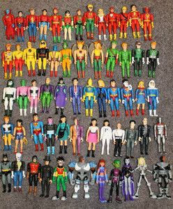 DC Pocket Heroes Lot Super Hero Mini Action Figures