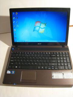 Acer Aspire 5742Z Notebook Pentium P6100/2,0G Dual/3G/160GB /DVD RW