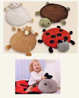 Rug Baby Nap Play Plush Activity Mat 4 Patterns Available New