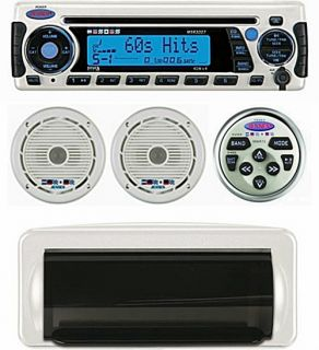 Stereo, Speakers, Remote Control   AM FM CD iPod Satellite Ready
