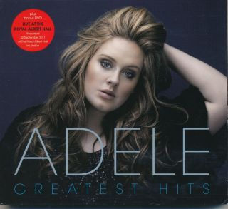 ADELE Greatest Hits Plus   Live Royal Albert Hall   CD/DVD set
