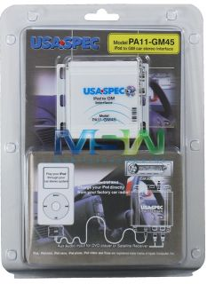 Spec PA11 GM45 iPOD INTERFACE ADAPTER for GM GMC CHEVY FACTORY RADIOS