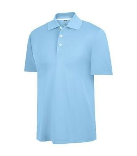 Adidas Sergio Garcia ClimaLite Relaxed Tech Golf Polo Shirt Blue s $60