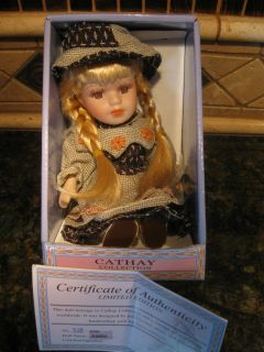 CATHAY Collection 6 *Adelina* Porcelain Doll NIB