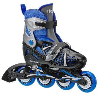 NEW Roller Derby Boy s Tracer Adjustable Inline Skate Medium