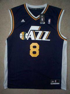 Adidas Utah Jazz Deron Williams NBA Basketball Jersey L Large